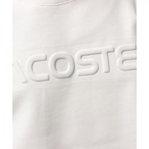 『LACOSTE』ロゴスウェットシャツ