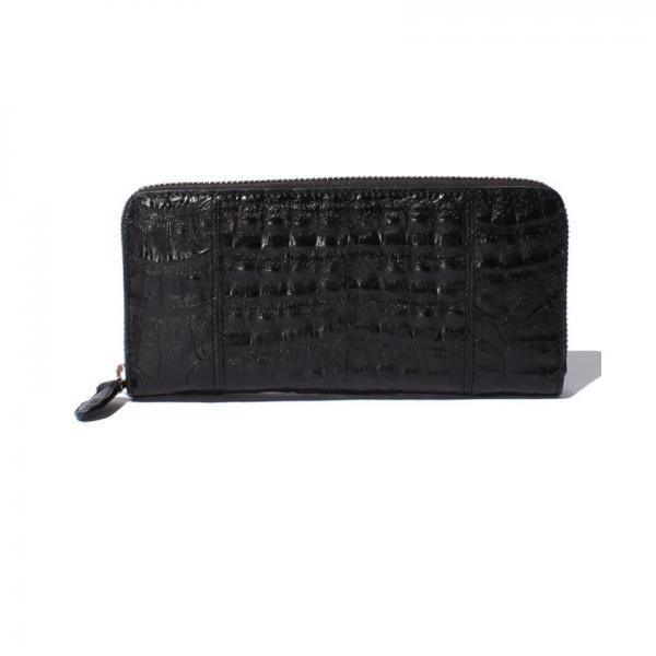 【ROMEO GIGLI】Henglong croco(ヘンローンクロコ)ラウンドファスナー長財布