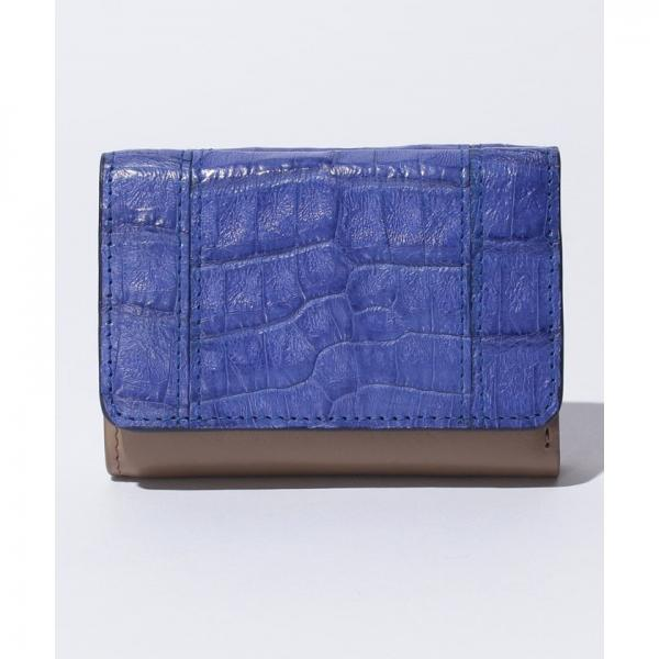 【ROMEO GIGLI】Henglong croco(ヘンローンクロコ)小型財布