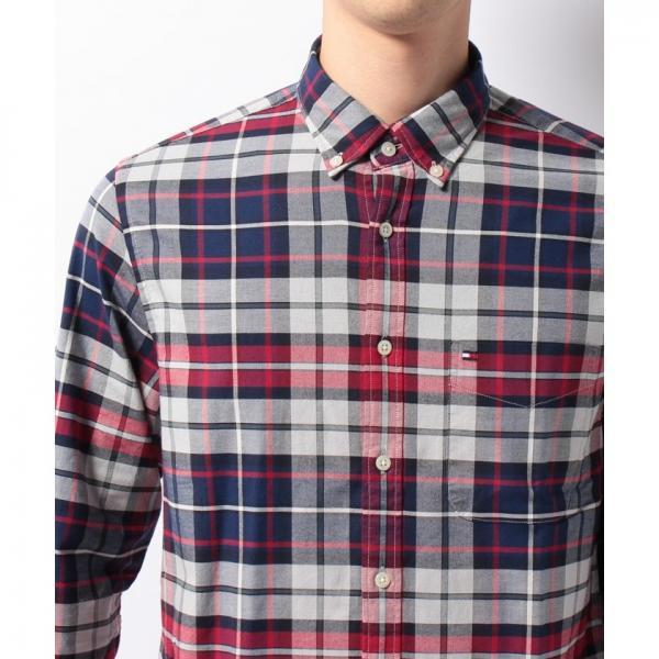 NFオックスフォードTOMMYタータンシャツ