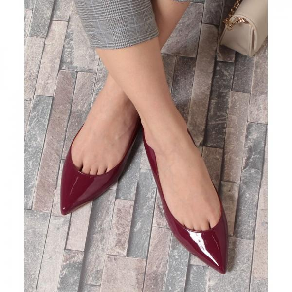 FLAT POINTED