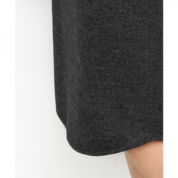 圧縮ジャージースカート