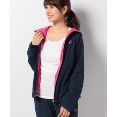 【セットアップ対応商品】FILA【LADY'S】タフタ×裏フリースジャケット