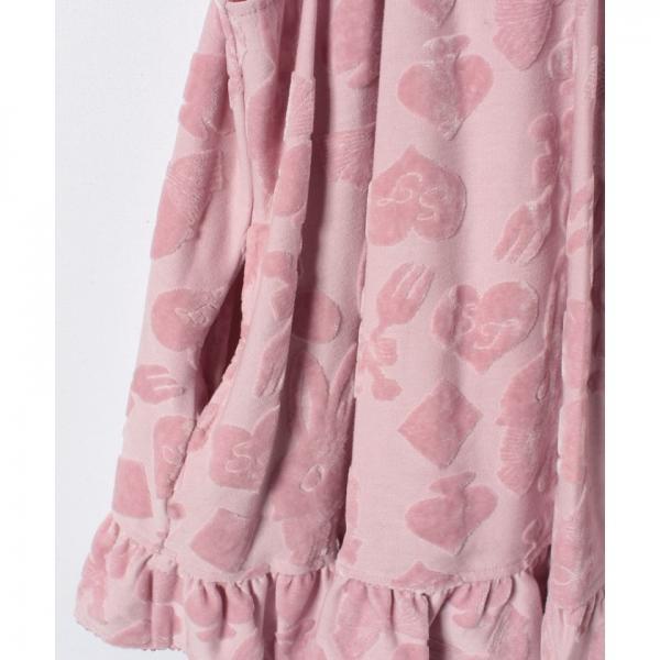 ベロアジャンパースカート(140cm)