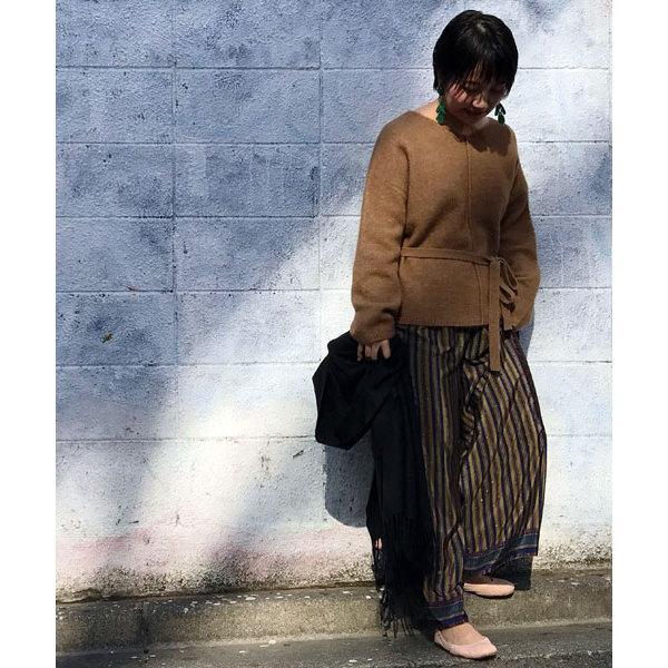 【セットアップ対応商品】スカーフプリントパンツ
