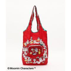 Moomin×AfternoonTea/コンパクトショッピングバッグ