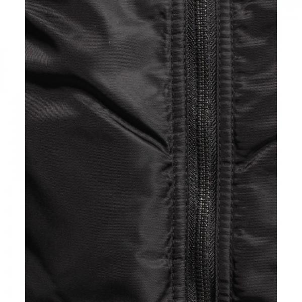ナイロンツイル×袖合皮MA‐1