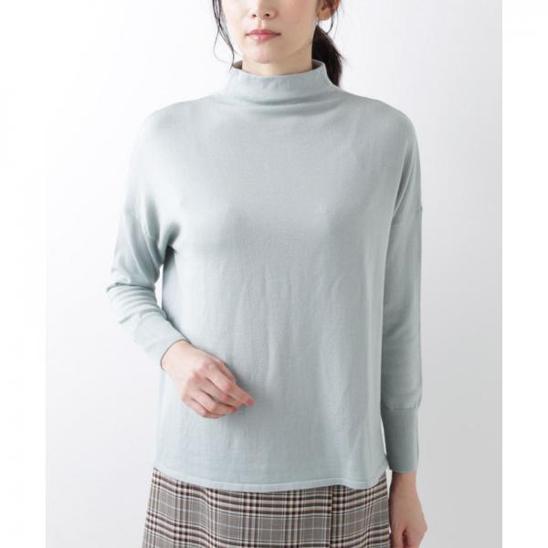 【Days Knit】ボトルネック ニットプルオーバー