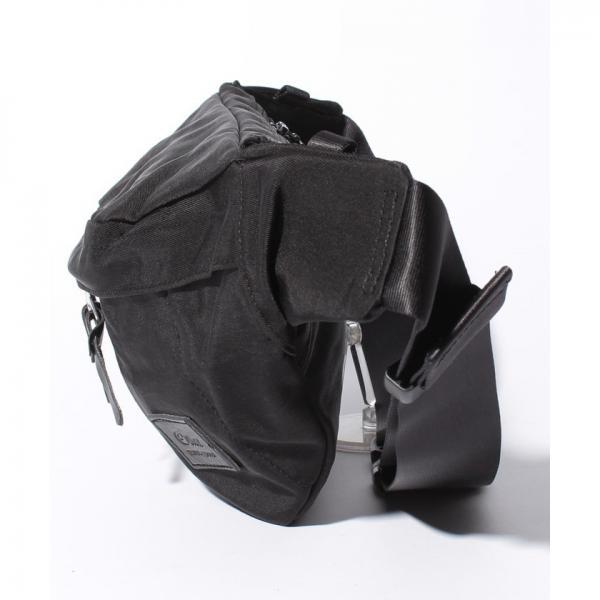 オティアス Otias / 液流染色ナイロン×ボディバッグ(ウエストバッグ)