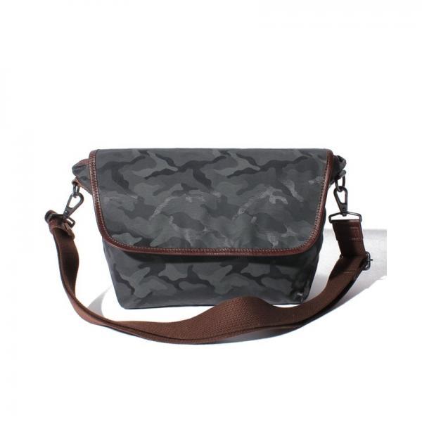オティアス Otias / コットンナイロンジャガード織カモフラミニショルダーバッグ