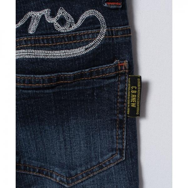 アメカジワッペン刺繍デニムパンツ(100~140cm)