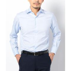 SD:【ALBINI社製生地】ファインフィット ツイル ワイドカラー シャツ【お取り寄せ商品】