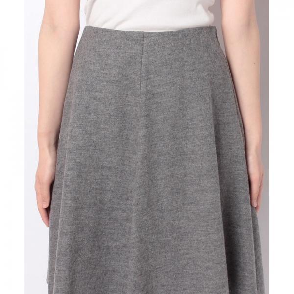 ウールフレアスカート