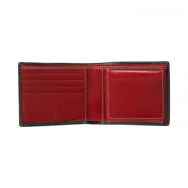 イタリアンレザースマート二つ折り財布
