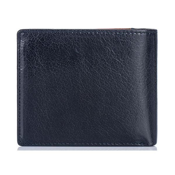 アニリンバッファローレザー二つ折り財布