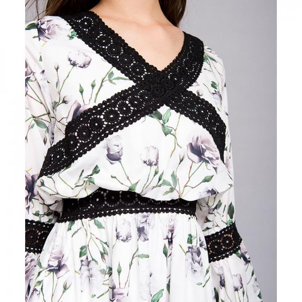 クロスレースワンピース[DRESS/ドレス]