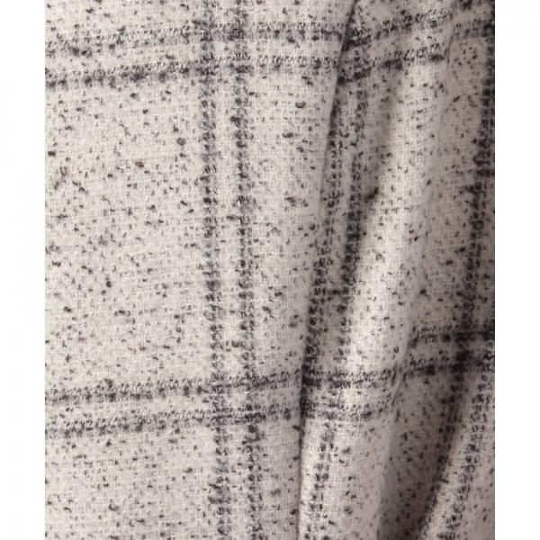 スカラップ長袖ワンピース(7L05‐11063)