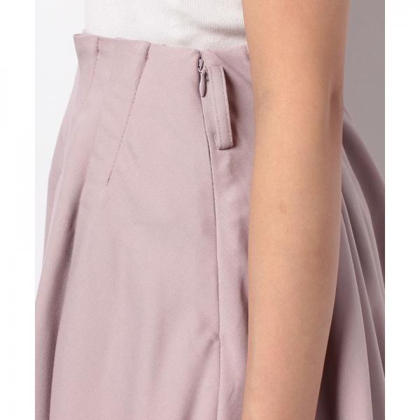 ウエストリボンニーレンスカート(7R10-10026)
