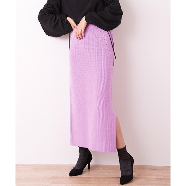 【セットアップ対応商品】ニットタイトスカート