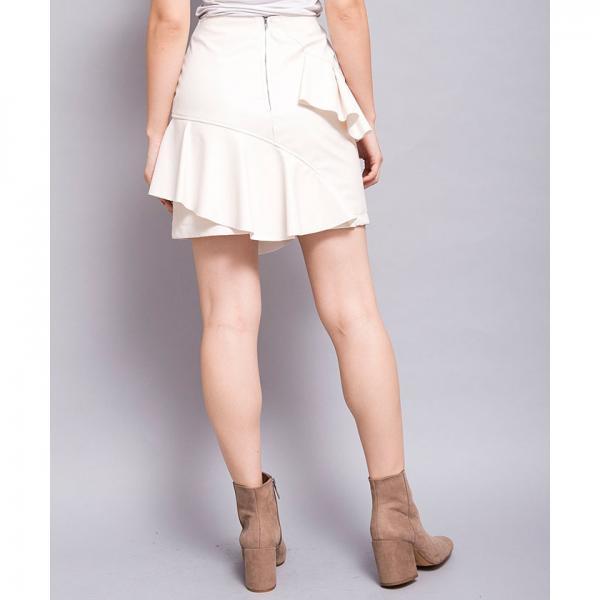 フェイクレザースカート[DRESS/ドレス]