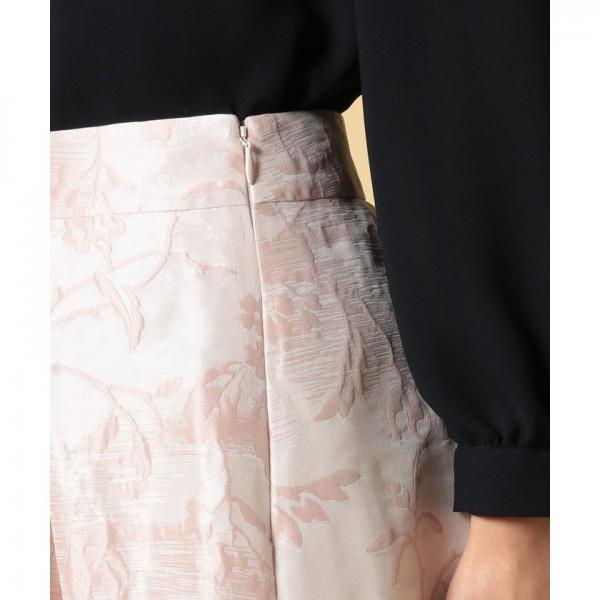 シルクリーフジャガードスカート