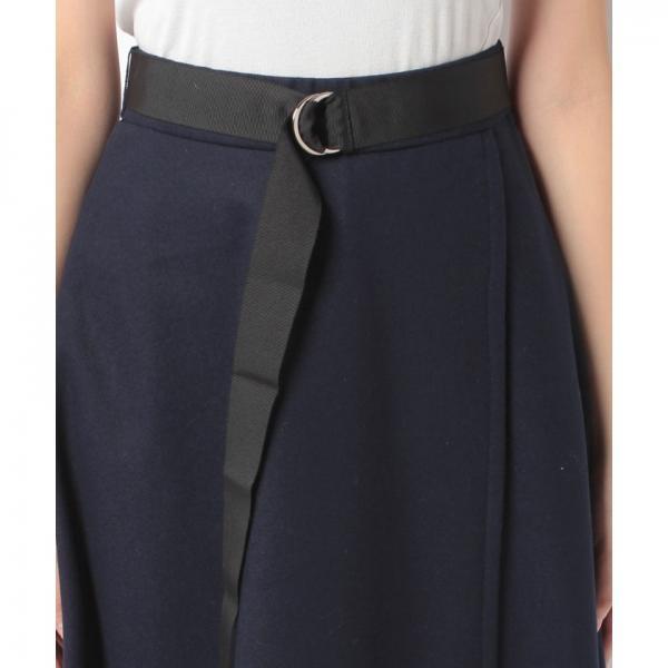 Dカンベルト付きスカート