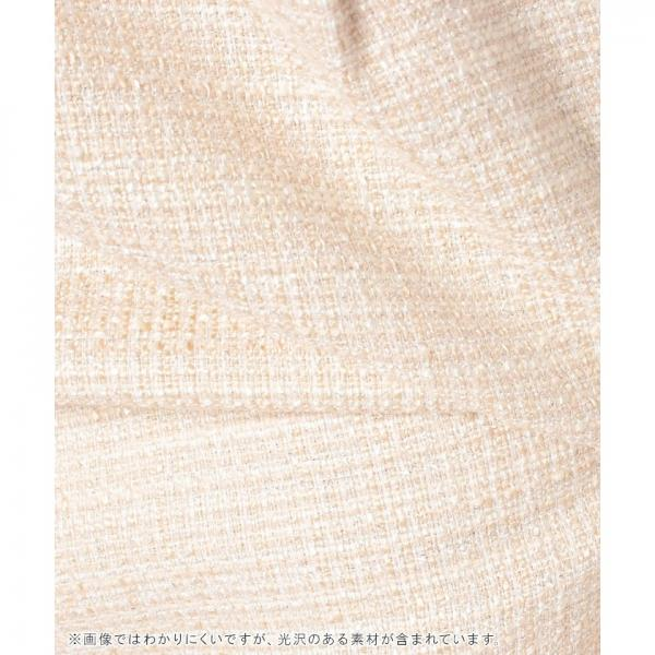 【セットアップ対応】ストレッチツィードタイトスカート[WEB限定サイズ]