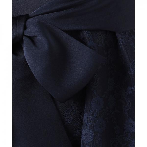 花柄チュールドレス(7R04‐92401)