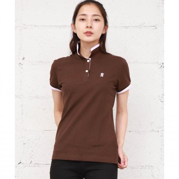 チビライオン刺繍ポロシャツ