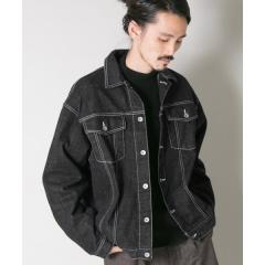 ローレン・サイ×URBAN RESEARCH iD 「the C」BIG DENIM JACKET【お取り寄せ商品】