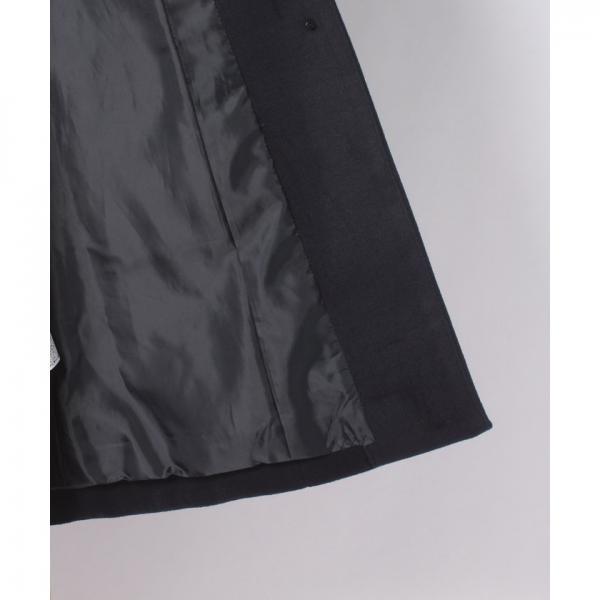 フォックスファー付ウールコート(7L06‐12025)
