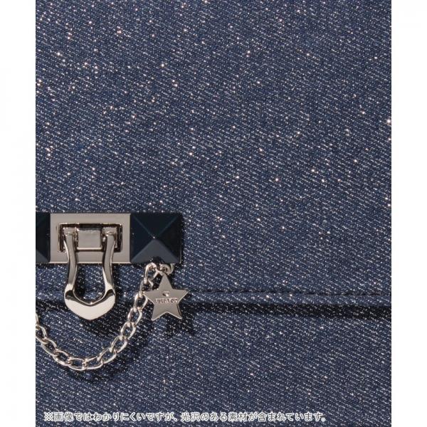 【VIVAYOU ビバユー】おこし金具付きチェーン使いショルダーバッグ