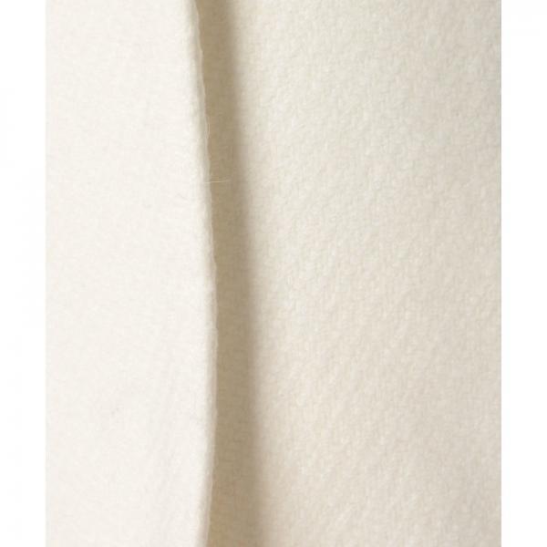 ★日本製★ラビットファー付ウールコート(7R06‐11022A)