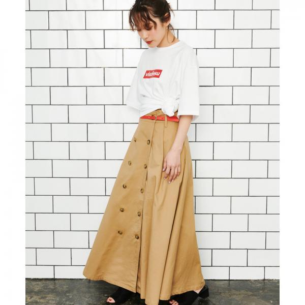 【ViS×高橋愛】visdesuロゴTシャツ