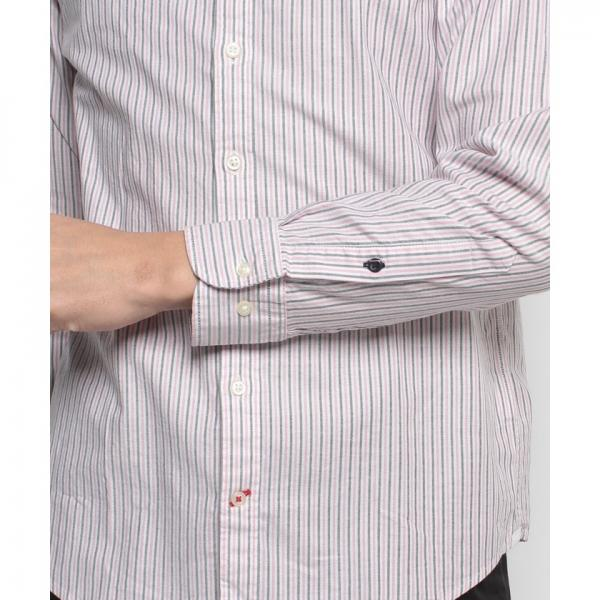 イサカストライプシャツ