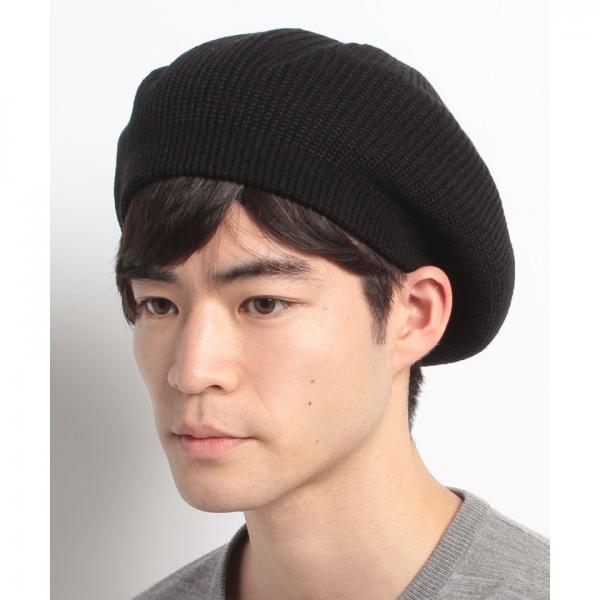 シンプルアクリルベレー帽