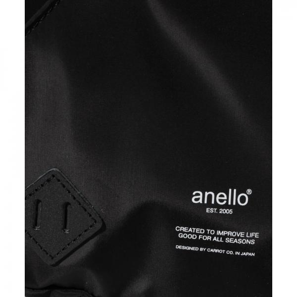 【2018春夏商品】anello/雫型ロゴプリントボディバッグ