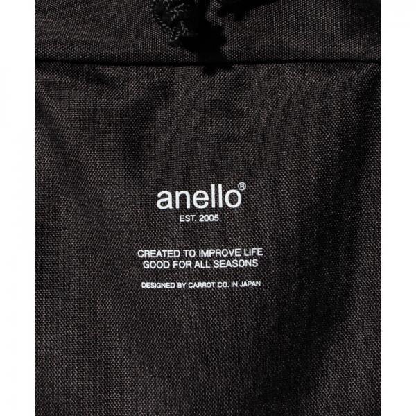 【2018春夏商品】anello/高密度ポリエステルメランジ調ボディバッグ