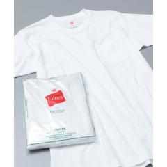 【Hanes for BIOTOP】2-Pack POCKET T-SHIRTS