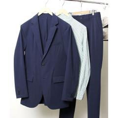 <LOHACO> (セットアップ企画)ナイロンPUストレッチテーラードジャケット【お取り寄せ商品】画像