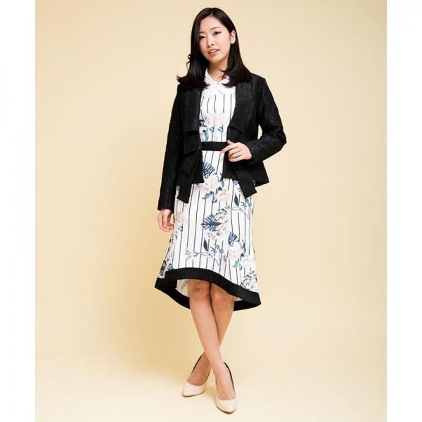 BIGリボンジャケット[DRESS/ドレス]