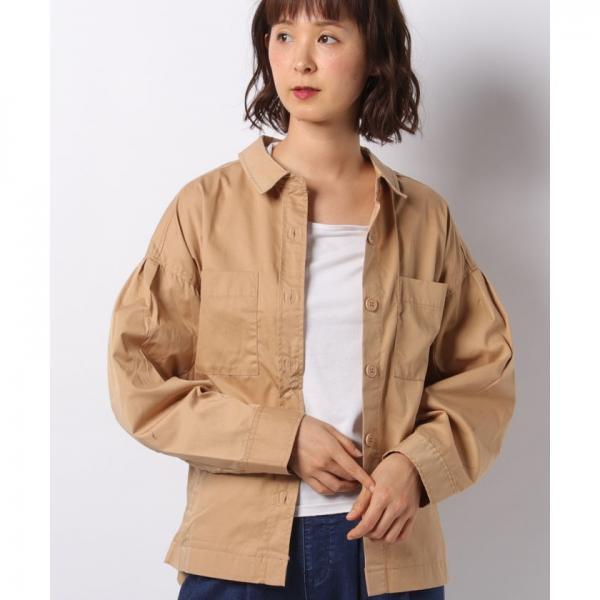 (ビームス) BEAMS / A2デッキ シャツ ジャケット BLACK S 11184016187