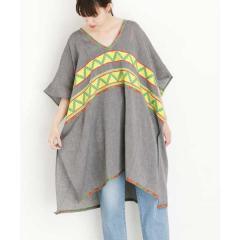 CELIA DRAGOUNI KNEE  LENGTH KAFTAN【お取り寄せ商品】
