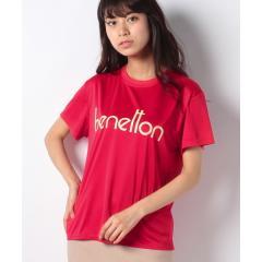 ベネトンBIG半袖ラッシュTシャツ・ラッシュガード(UV加工UPF50+)