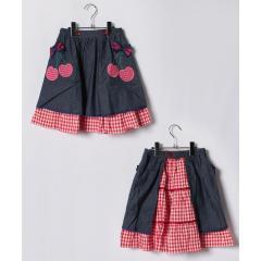エプロン付きスカート(150~160cm)