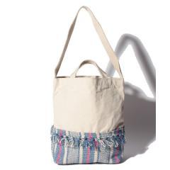■LilasCampbellストライプフリンジバッグ