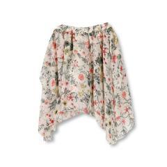 【限定】花柄シフォンスカート