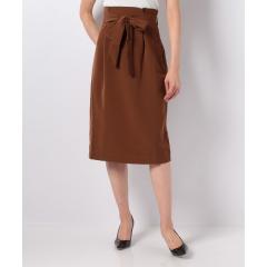ウエストリボンナロースカート