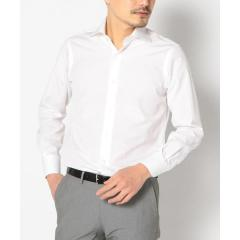 SD:【ALBINI社製生地】ファインフィットブロード ソリッド ワイドカラーシャツ【お取り寄せ商品】