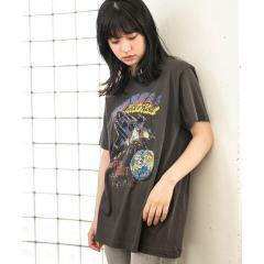 ロックヴィンテージ風Tシャツ